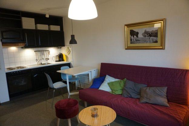 Renovierung Blick Wohnzimmer